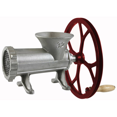 Cast Iron Meat Grinder/Pulley