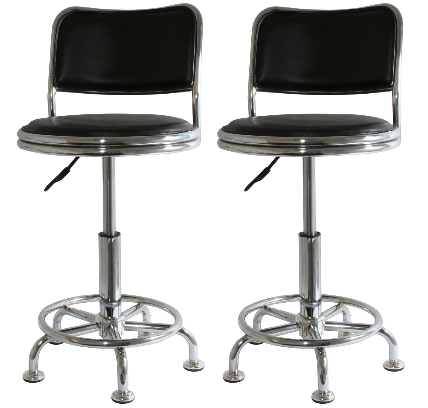 bs2088set amerihome adjustable shop stools