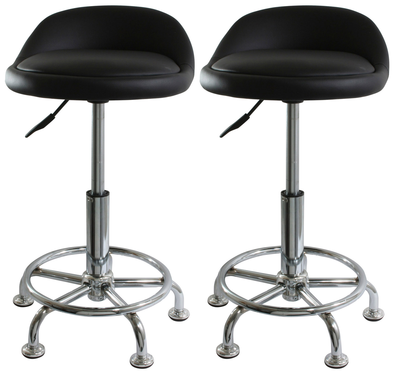 bs2304set amerihome adjustable shop stools