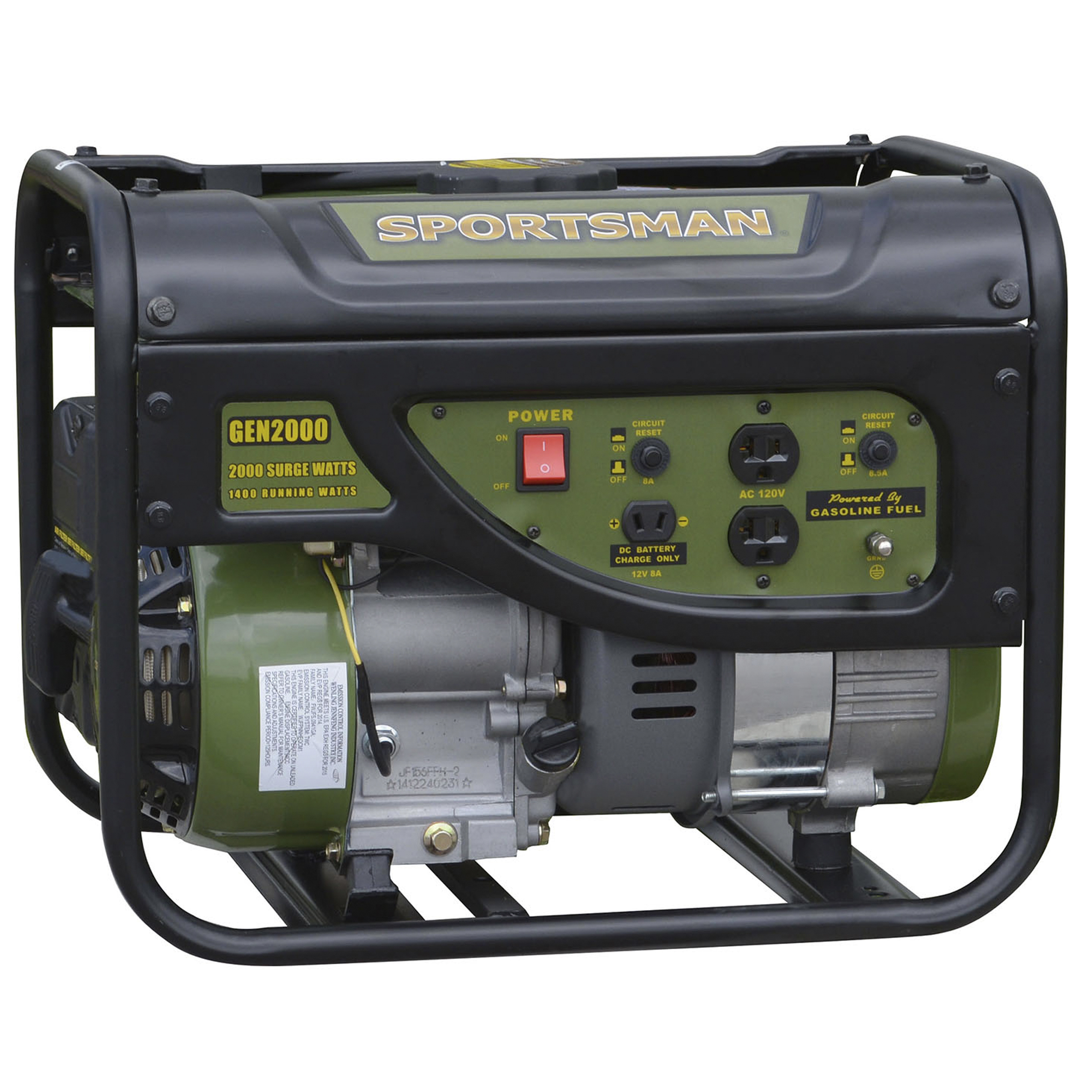 Generator Wattage Worksheet : Sportsman surge watt gas generator