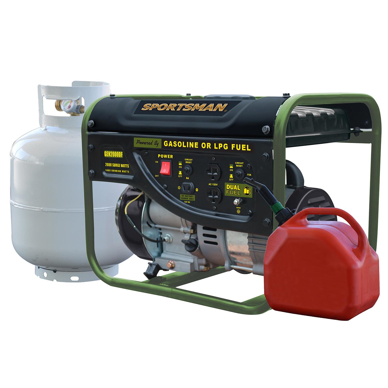 Generator Wattage Worksheet : Sportsman surge watt dual fuel generator