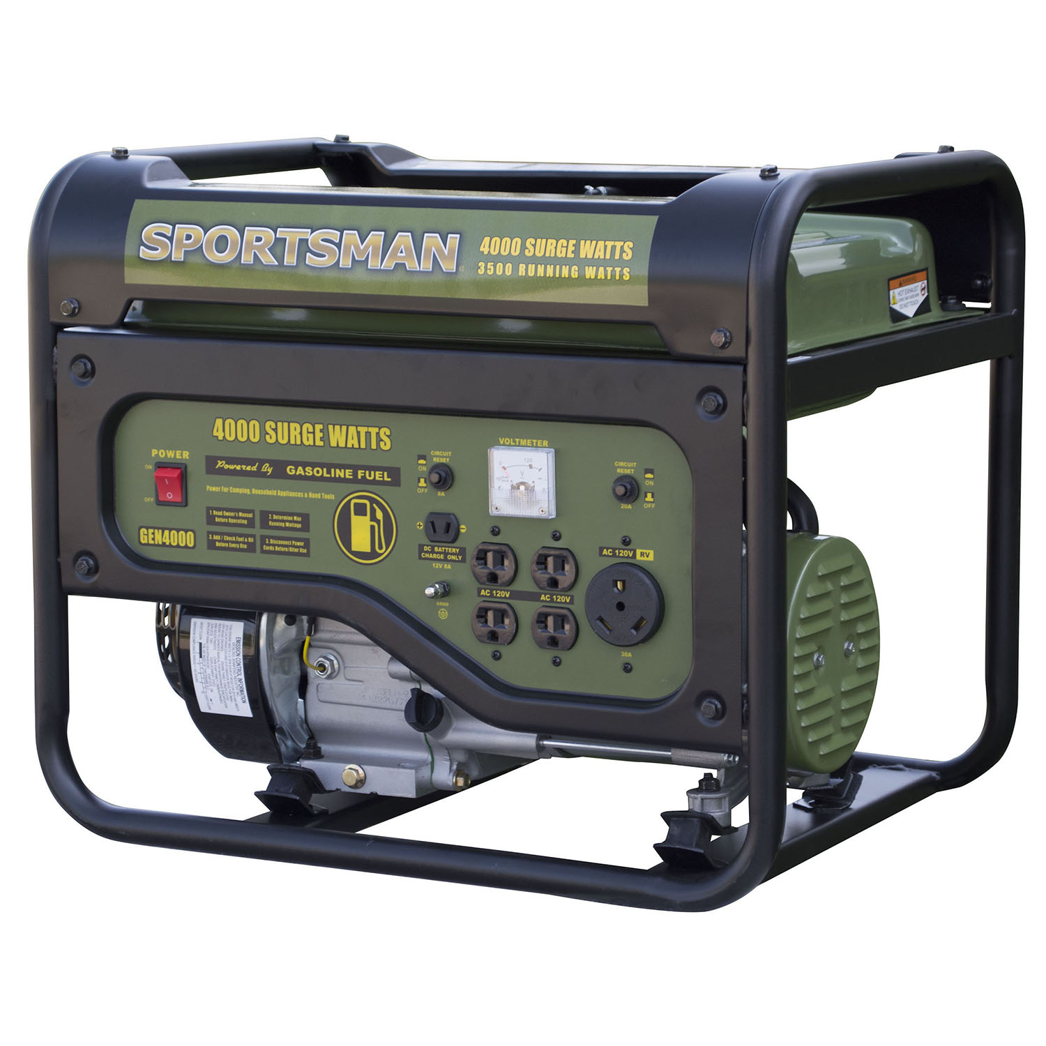 worksheet Generator Wattage Worksheet sportsman 4000 surge watt gas generator 1 2 3