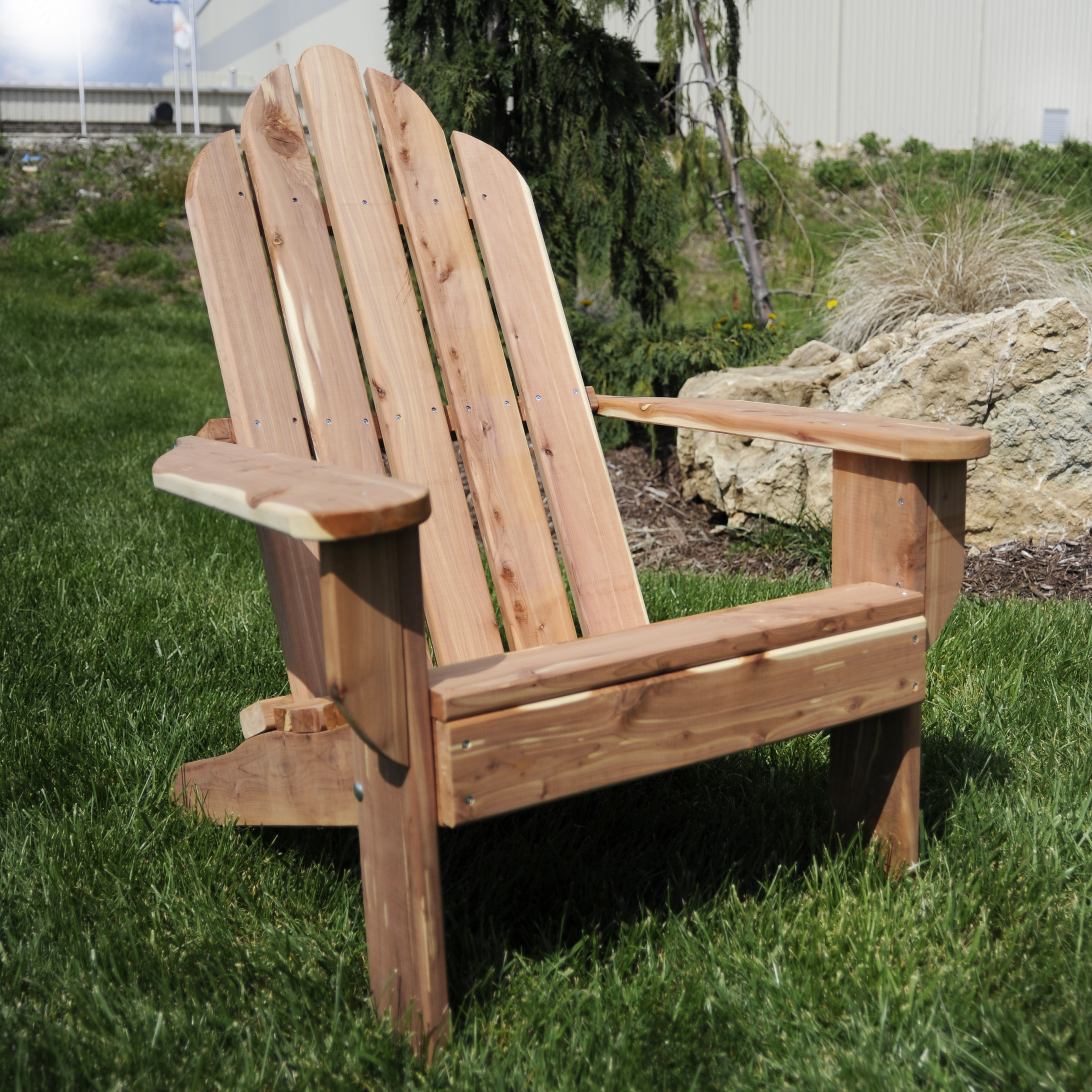 Image Is Loading Amerihome Achair Cedar Adirondack Patio Chair Made In